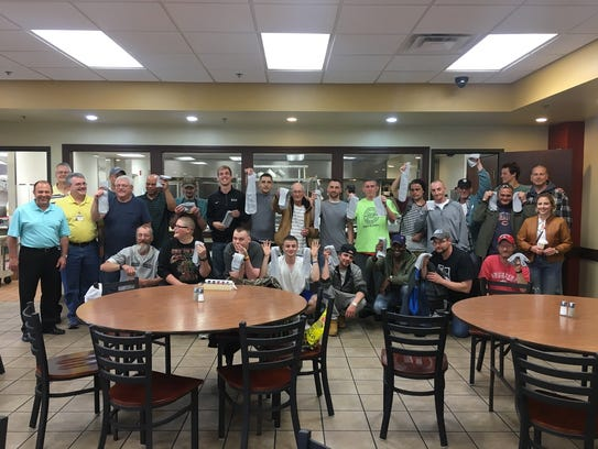 Taylor University basketball players and residents