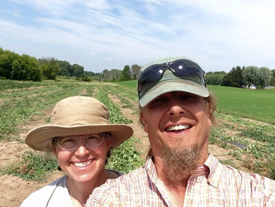 Dawn and Richard Slager, founders of Produce with a