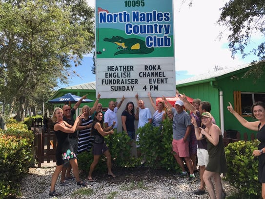 Members of the open-water community held a fundraiser