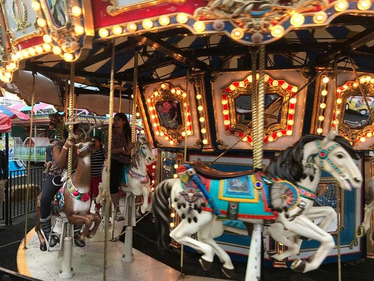 The annual Rotary Fair, now in its 10th year under