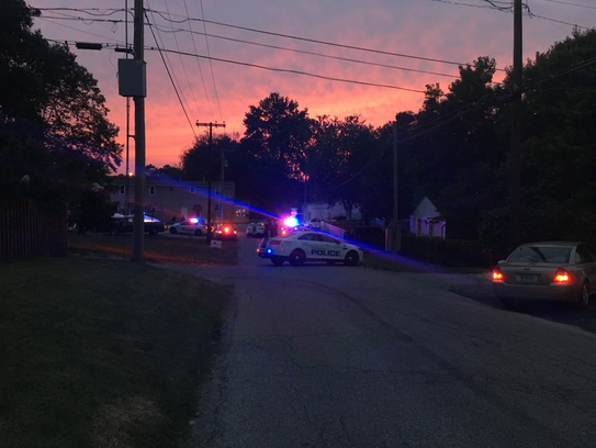 One person was injured in an apparent shooting on Evansville's