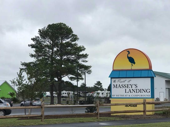 Massey's Landing, seen Sept. 19, 2017.