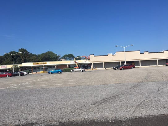 A shopping center at 498 Beverly Rancocas Road in Willingboro