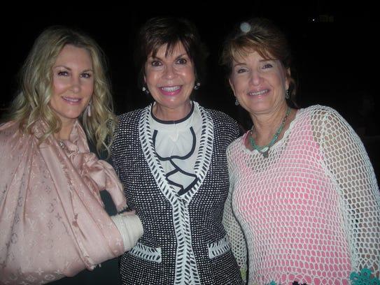 Jennifer Frierson, Linda Biernacki, Angie Triplet at
