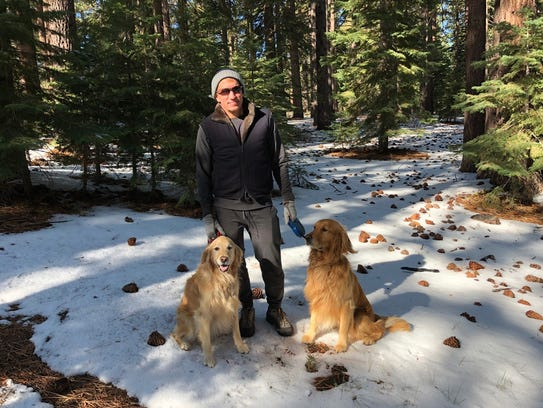 Best-selling author James Rollins also loves the outdoors;