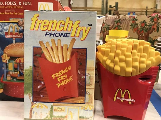 A McDonald's French fry phone is among the thousands