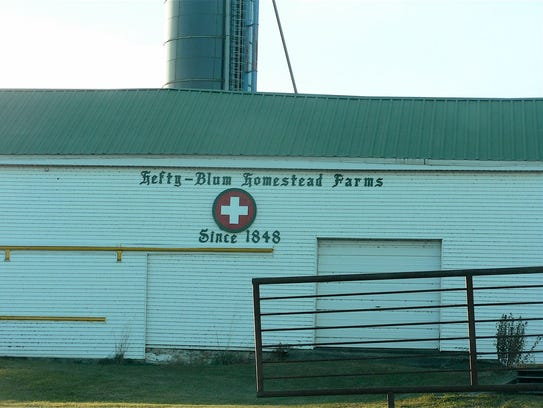 The farm dates back to 1848.