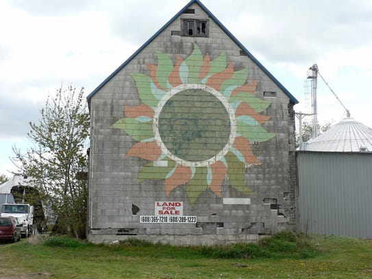 The seed house used to process Dougan Hybrids was moved