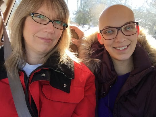 Nichole and her mom, Amy Dorontich