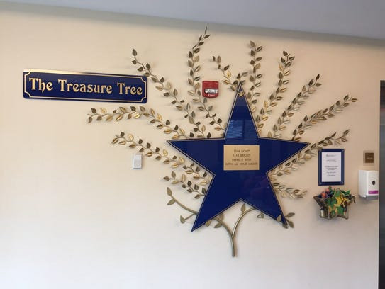 A Treasure Tree, a compassionate care icon for well-wishes