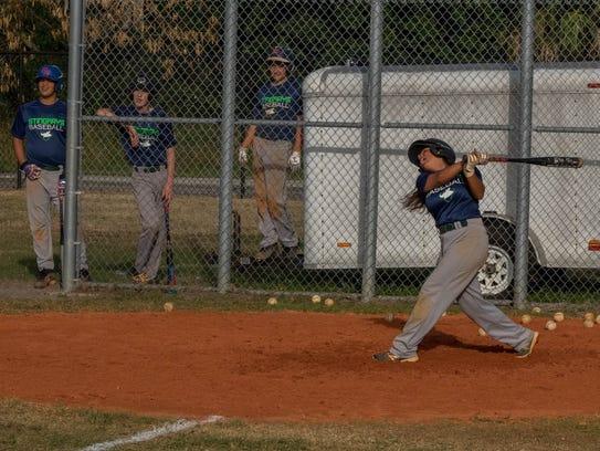 1) Violet Mendez, starting second baseman for the Storm