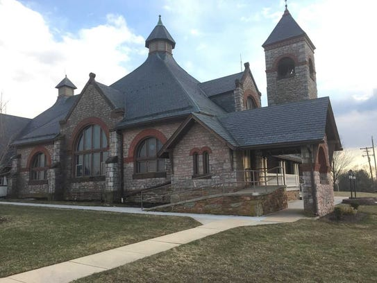 Centre Presbyterian Church in southeastern York County's New Park is an example of a Dempwolf-designed building in this rural area.