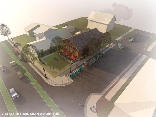 Developer Chris Houden announced on April 17 his plan to donate the log cabin to a local Wauwatosa architectural firm to be used for additional office space.