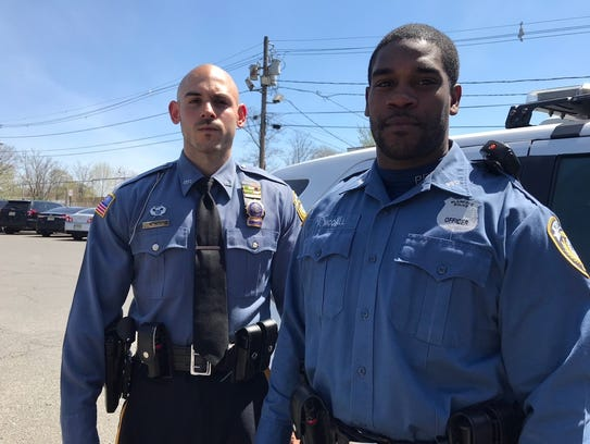 Plainfield Detectives Michael Metz and Pierre McCall