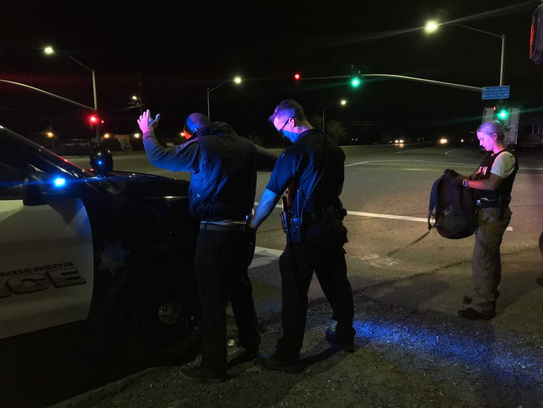 It was a busy day and night for the Anderson Police Department and others.