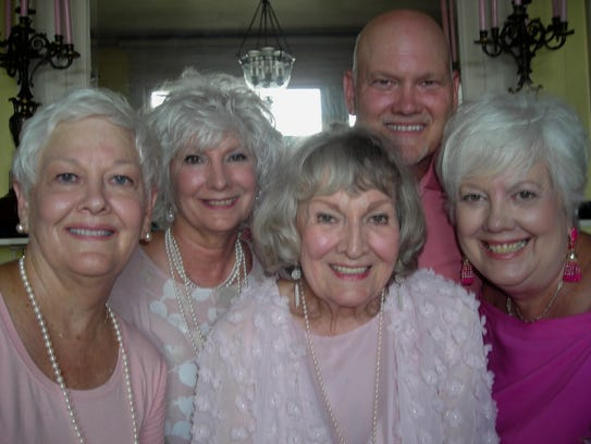 90th Birthday Girl Martie Powell (front row, center)