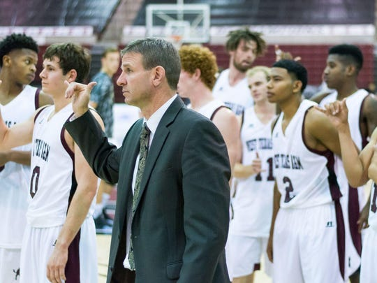 Chris Gove is associate head coach at West Texas A&M