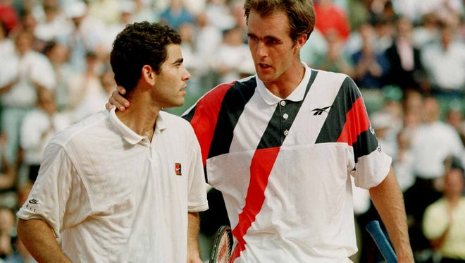 Todd Martin faced Pete Sampras 22 times during their careers. He won four of those matches, though several of the defeats were epic five-set affairs.