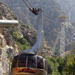 The Palm Springs Aerial Tramway re-opens Saturday after its annual two-week maintenance shutdown.