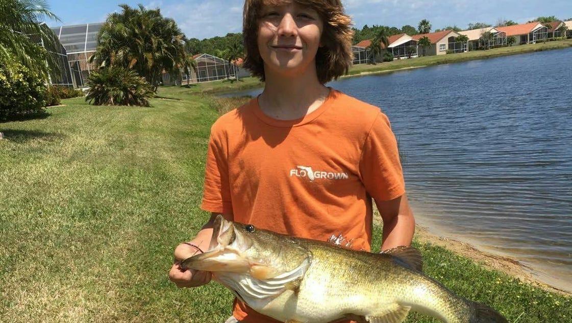 Treasure coast fishing report backyard bass are biting for Treasure coast fishing report