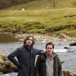 """""""The Trip to Italy"""" stars Steve Coogan, left, and Rob Brydon."""