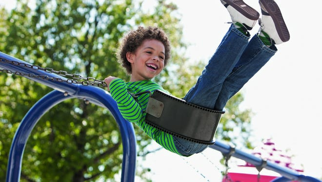 The Centers for Disease Control and Prevention reports that every year emergency departments treat more than 200,000 children ages 14 and younger for playground-related injuries.