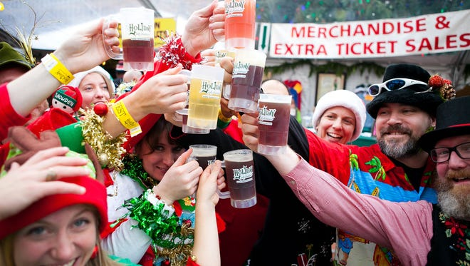 Holiday Ale Fest takes place Dec. 2-6 at Pioneer Courthouse Square in Portland.