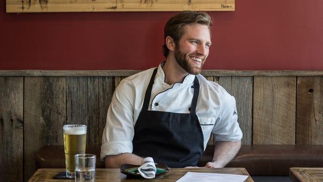 Tyler Saracino, kitchen manager at Americano