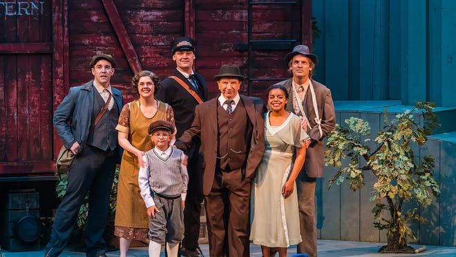 """Northern Sky Theater performs """"Boxcar"""" in Door County."""