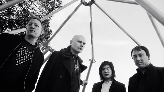 The Smashing Pumpkins in 2018, from left: Jimmy Chamberlin, Billy Corgan, James Iha and Jeff Schroeder.