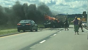 Fatal accident on I-275