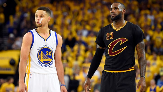 LeBron James and Stephen Curry could be battling for MVP this season.