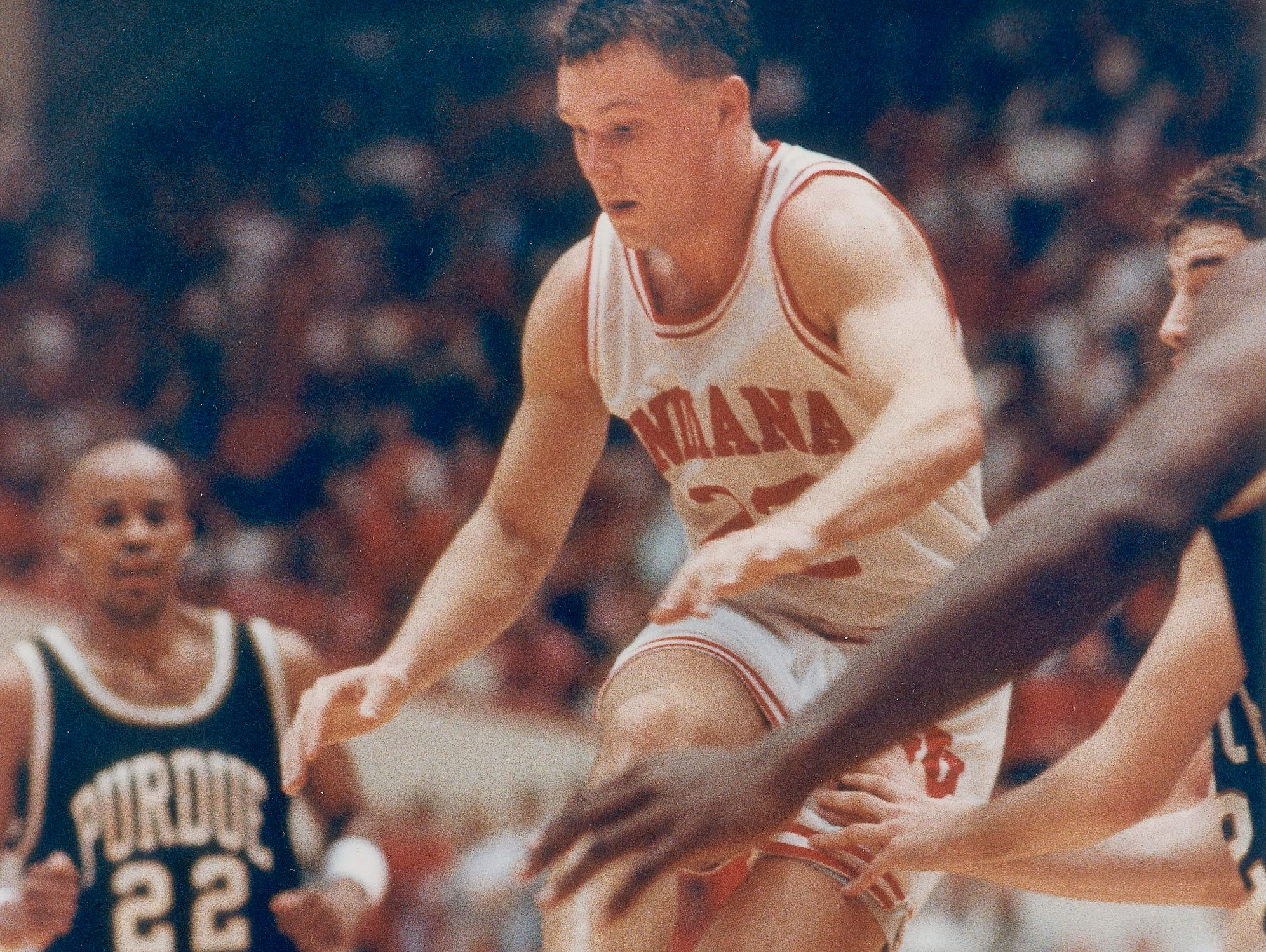 Damon Bailey went on to play for Indiana University, coached by Bob Knight.