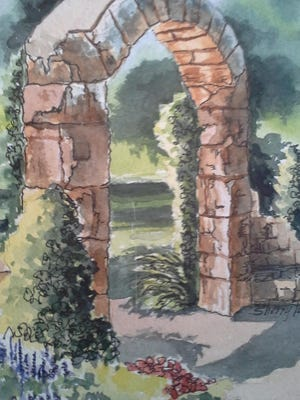 Art from watercolorist Sherry Tuss and her students can be seen at Studio 706 and at their guild show through November at the public library.