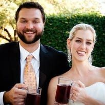 The concept for a casual, neighborhood beer garden that features in-house-brewed craft beer and good food comes from husband and wife team Chris Rauschuber and Whitney Roberts, who are North Austinites themselves.