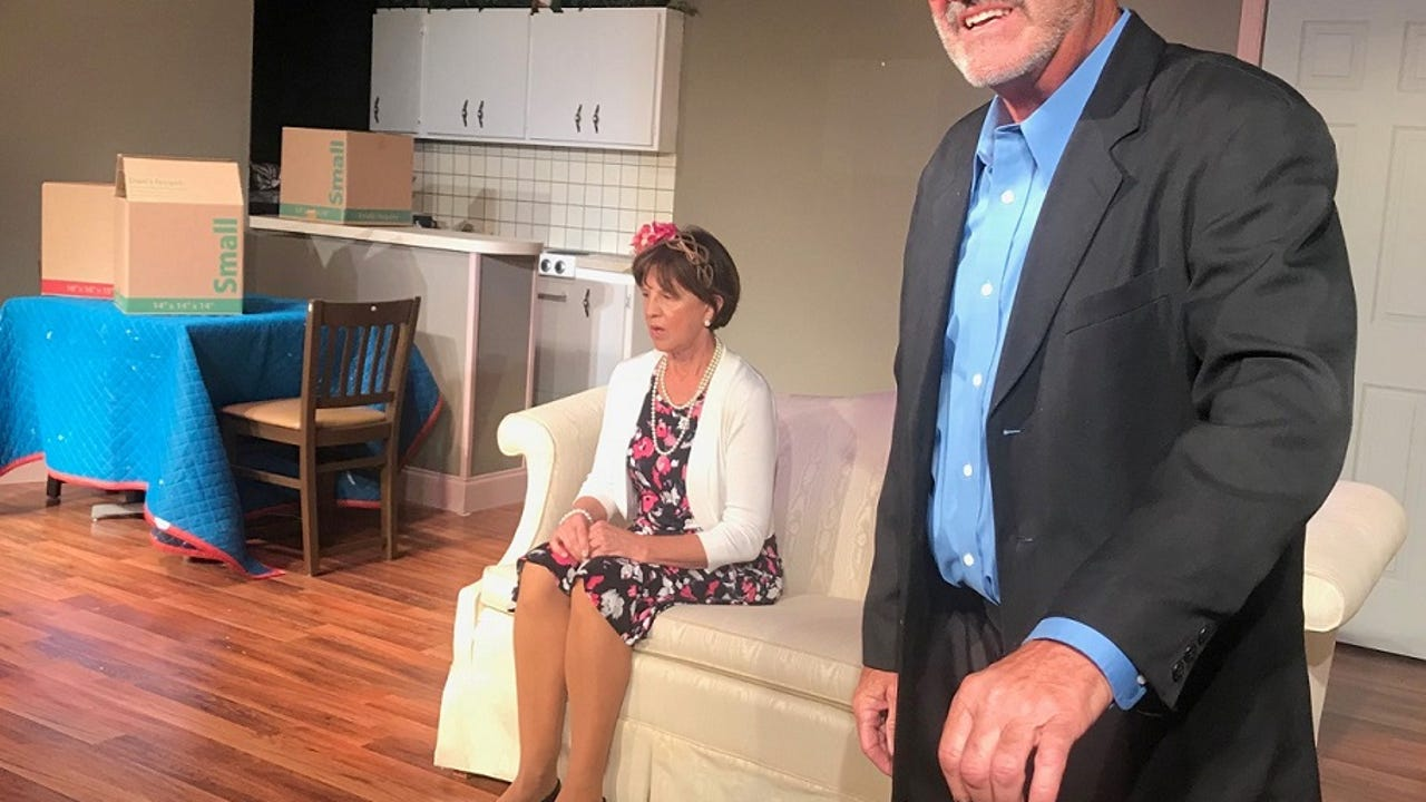 Life in a Florida condo complex, both funny and tragic are the center of the Marco Players production now through Jan. 21.