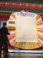 "The game Plinko is featured during ""The Price is Right"