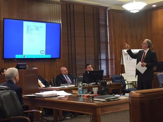 Erin Andrews' lawyer Randall Kinnard speaks to the