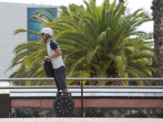Turns out Segways did not  revolutionize urban living