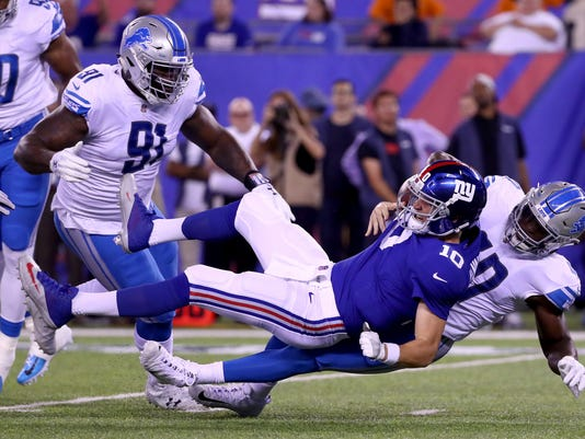 Detroit Lions v New York Giant