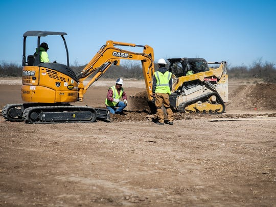 American Electric Power purchased the land to launch a $12.5 million project in San Angelo's Industrial Park in November.