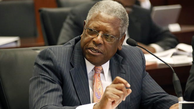 Sen. Willie Simmons, D-Cleveland, authored the original seat belt bill, which was amended on the Senate floor.