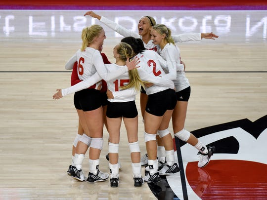 USD women's volleyball team play UND on Tuesday at the Sanford Coyote Sports Center in Vermillion.