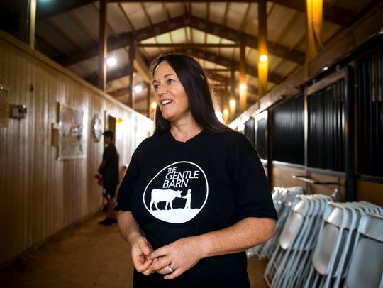The Gentle Barn founder Ellie Laks in Knoxville on