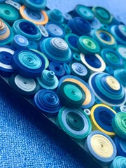 Meet quilling artist Heather Allard Saturday at Plum Bottom Gallery.