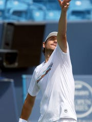 Mardy Fish will face Viktor Troicki in a W&S Open first-round match. Fish arrived to Mason early to prepare for his final tournament at the Lindner Family Tennis Center.