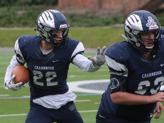 Cranbrook Kingswood's Jack Fairman was named to the All-Catholic (Intersectional 1) team.