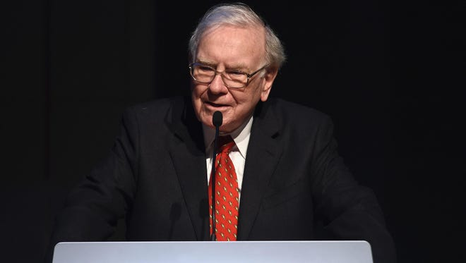 Warren Buffett, shown in a June 2015 file photo, recently announced his firm Berkshire Hathaway is acquiring Precision Castparts Corp.