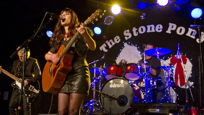 Emily Grove, pictured in 2013 at the Asbury Music Awards at the Stone Pony in Asbury Park.