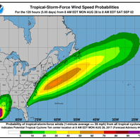 Potential tropical storm 'Irma' set to bring high winds, nor'easter conditions